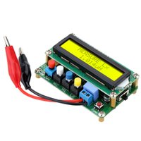Wholesale LC100 A Digital LCD High Precision Inductance Capacitance L C Meter Capacitor Test Mini USB Interface E0761