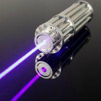 Wholesale High Power Blue Laser Pointer mW Burn Cigarette AL Box glasses