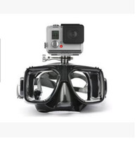 adult snorkeling mask - New Adult Gopro Hero Session Camera Diving Mask Scuba Swimming diving snorkeling face mask