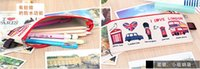 Wholesale Cheap coin purses I love London letter coin purses wallet printing fashion cute small zipper bag for all people