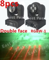 Wholesale 8pcs sided face led mini moving head light cree x12w beam Tianxin x12w wash for dj shows mobile entertainers night clubs stages