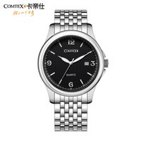 Wholesale 2015 Limited Top Fashion Hardlex Stainless Steel Comtex Authentic Watches Waterproof Quality Fashion Men Watch Quartz Movement