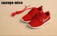 Wholesale 2016 Kids Running Shoes Sports shoes Mesh jogging shoes Boy shoes Girl boots Children athletic running Casual shoes HH S005