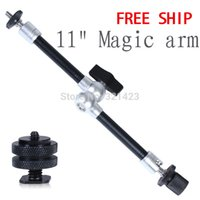 "Cheap NEW Product Aluminium alloy 11"" Inch Adjustable Friction Articulating Magic Arm Photo Studio Accessories for LCD"