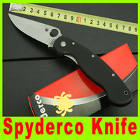 Wholesale China OEM Spyderco Para Military Knife Plain Edge G10 Handle Camping Knife Survival Tactical Knives EDC pocket knife X