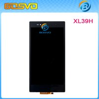 Wholesale Replacement new for Sony Xperia Z Ultra XL39h LT39i C6802 C6833 LCD display with touch screen digitizer one piece