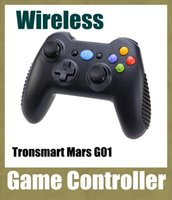 Wholesale Tronsmart Mars G01 GHz Wireless Gamepad for PlayStation PS3 Game Controller Joystick Android TV Box Phone MINI PC Windows Kindle OTH094