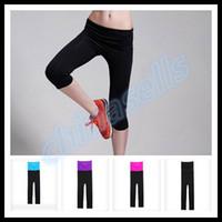 Wholesale 2015 woman sports fitness hot pants lady YOGA pants running Gym Leggings athletic Pants S XXL colour choose