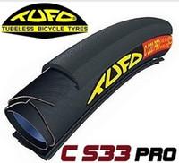 Wholesale Bicycle Tire TUFO C S33 PRO Black Highway tubular tyre x21C for Road carbon tubular wheels