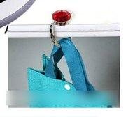 Wholesale Foldable Glossy Handbag Bag Purse Hanger Folding Diamond Hook Convenience Storage Baghanger Grace Beautiful Mesh Printed Hook N1092