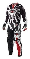 air checkers - Hot sale Mx Gear SE Pro Checker Motocross Pants FREE JERSEY sports GP AIR CYCLOPS VENTED POLYESTER MESH Black MX Kit