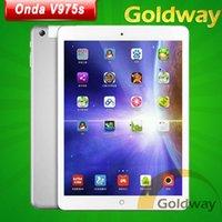 al por mayor onda v975s-Onda original V975S Quad Core 1.0GHz Allwinner A31S 1 GB de RAM 16 GB de ROM de doble cámara de 9,7 pulgadas IPS 1024 * 768 PC androide 4.2 de la tableta