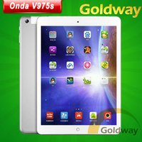 Wholesale Original Onda V975S Quad Core Allwinner A31S GHz GB RAM GB ROM Dual Camera inch IPS Android Tablet PC