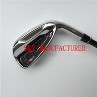 Wholesale 2015 New RSi Golf Irons Set With Steel or Graphite Shaft Headcovers PAS