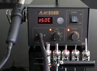 Cheap A-BF 850D air pump type ESD safe digital heat gun desoldering station