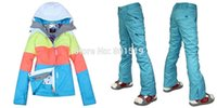 best new snowboards - new Combination women ski suit best quality color matching snowboard jacket pants set windproof ski wear
