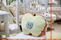 apple chair cushions - Cartoon the Apple lemon Creative fruit Bunny plush toys cushion pillow car chair cushion birthday present