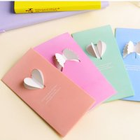 Wholesale 24 Folding wing Greeting card Thanks Message Gift card party invitation for Wedding christmas cards with envelope