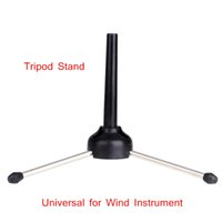 Wholesale Oboe Flute Clarinet Stand Saxophone Tripod Black Folding Deign Durable Wind Instrument Accessories