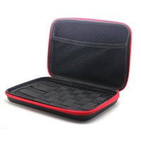 bag e packs - 1pc New all in one e cig tools bag case for packing atomizer e liquid coil e cig cotton tweezer bag DHL