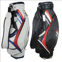 golf cart - 2015 New Tay golf bags colors Mix order Standerd Mens top quality PU golf bag Ems ship