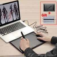 Wholesale 2048 Levels Art Graphics Drawing Tablet Digital Tablets Board Pad grafica tableta Digital Pen for PC Laptop