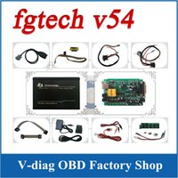 Wholesale Latest Version V54 FGTech Galletto Master BDM TriCore OBD Function FGTech V54 with Multi Languages ECU Chip Tunning Tool