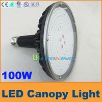 100w led - Latest new W LED canopy light for Gas station Light floodlight IP65 E40 Base