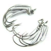 Wholesale P80 Tungsten Steel Fish Hooks Crank Lead Hook Sharp New
