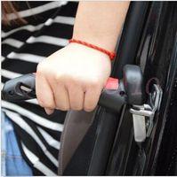 Wholesale 1000pcs CCA2910 High Quality Novelty Car Handle Door Armrests Car Cane Multifunction Armrest Car Safety Handrail Car Cane With Flashlight