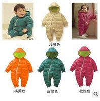 Wholesale Foreign Trade Kids Clothing Thicken Baby One piece Clothes Children Hoodies Romper