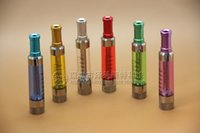 aluminum exchange - Electronic Cigarette Atomizer The new mouth T4 bottom aluminum atomizer heat exchange core removable electronic smoke gasifier color optiona