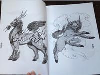 Wholesale 100 japaneseTattoo Designs Book by Horimouja Jack Mosher A4 Vol japanese Design Sketch Flash Tattoo Book