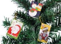 christmas tree ornaments - Christmas greeting card Christmas decorations birthday wish Wishing festive Christmas tree ornaments decorated small card