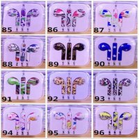 Wholesale 3 MM In Ear Colored Drawing Headset DJ Music Headphone With Mic Earphone For Apple iphone