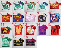 Wholesale Superhero cape CAPE MASK cm cm back Super Hero Costume for Children Halloween Party Costumes for Kids