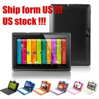 Wholesale Stock in US UK Q88 Inch Tablet PC Android Tablet PC GB A33 Quad Core quot Tablet