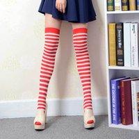 sexy body socks - Velvet Fabric Stripe Sexy Pantyhose Hose Knee High Long Socks Thigh High Socks Body socks and Silk Sock