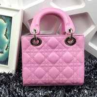 Wholesale 2015 Korean fashion brand new PU Leather Handbags Shoulder Messenger Bag Hand Quilted Chain Bag