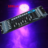 Wholesale Hot XLot DMX controller DJ Controller equipment DMX512 Console Stage Lighting Controller Free Shiping