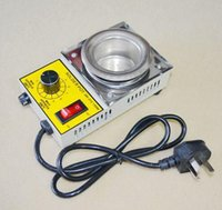 bath pot - Rushed New Wire Feeder Mig Welding Machine Welding Solder Pot Soldering Desoldering Bath mm v Degree Max