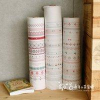 cross stitch fabric - Fabric curtain table cloth handmade diy cross stitch fabric fluid stripe print meters