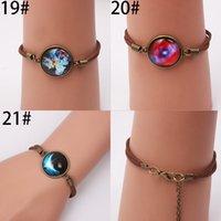 flower bracelet - 2015 New Design Pure hand Infinity Bracelets Brand Round Flower Moon Stars Copper With Rhinestones Snap Button Charm Bracelet