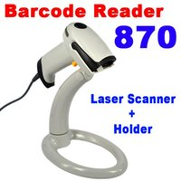 Wholesale Hot set USB Bar Code Long Scan Handheld Laser Barcode Scanner Reader Holder Stand for Automatic Continuous Scan
