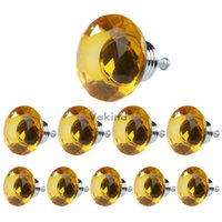 Cheap glass drawer knob Best glass crystal cabinet kno