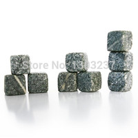 Wholesale Marble Stone Ice Cubes Chillers for Whiskey Soapstone Wine Drinks Barware dandys