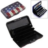 american flag material - Support Big Order Credit Card Box Waterproof Plastic material American Flag Design