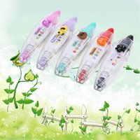 Wholesale Creative Lace Correction Tape Stationery Lovely Characters Animals Sticker for Photo Album Notebook DIY Correction Supplies