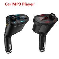 Wholesale LCD Fm Wireless LCD transmitter Car mp3 player MP3 WMA USB SD MMC SD Card USB Port FM radio mp3 music player Multi Color