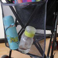 Wholesale Baby Stroller Hanging Bags Kids Stroller Accessories Bottle Diaper Bag Stroller Mesh Hanging Storage Organizer VT0114 Kevinstyle